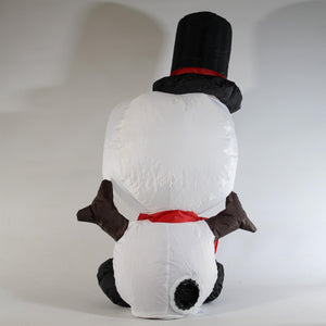 UK-Gardens 80cm Inflatable Christmas Snowman Christmas Decoration Indoor Battery