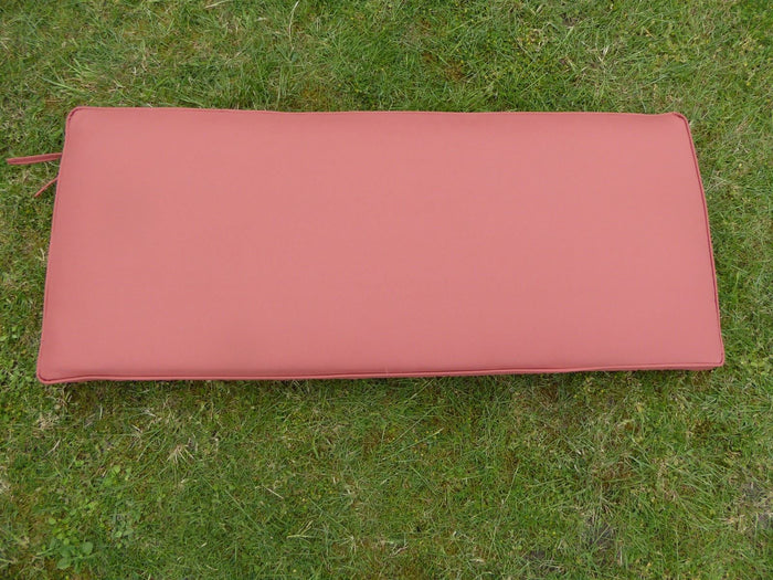 Terracotta 2 Seater Bench Cushion 116x48x6