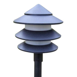 Set of 6 Pagoda Garden Lights - EU 2 Pin Plug