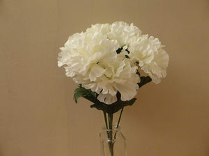 White Carnations Bunch Arrangement