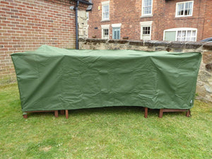 Large Rectangular Patio Set Cover - Weatherproof Heavy Duty