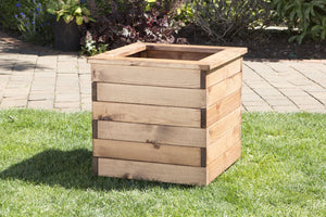 Large Square Wooden Garden Planter