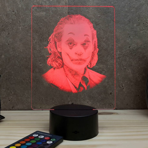 Lampe Joker Joaquim Phoenix illusion Led