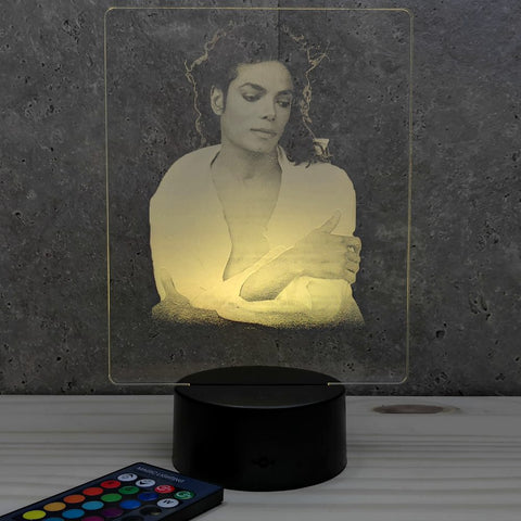 Image of Lampe Michel Jackson illusion Led