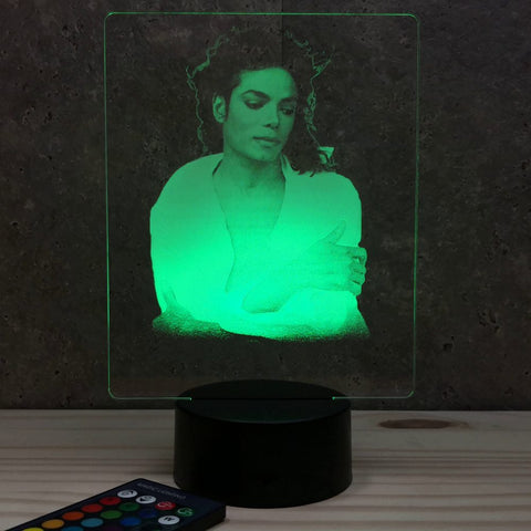 Lampe Michel Jackson illusion Led