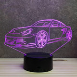 Lampe Porsche 997 Turbo Illusion Led RGB 7 ou 16 couleurs