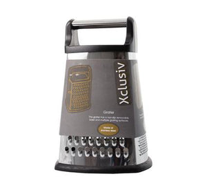 avenusa - Xclusiv Box Grater, 4-Sided Stainless Steel - avenu.co.za - Home & Decor