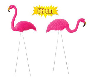 avenusa - Bright Pink Plastic Animal Flamigos, Garden Statue, Yard Ornament - 56 cm, 2 Pack - avenu.co.za - Tools & Home Improvement, Garden