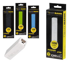 Load image into Gallery viewer, avenusa - Usb Power Bank 1200Mah With Cable - avenu.co.za - Electronics