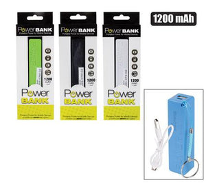 Usb Power Bank 1200Mah With Cable