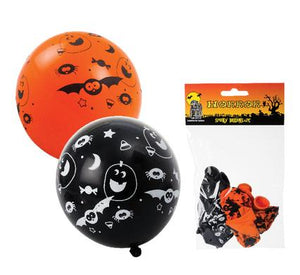 avenusa - Horror Spooky Balloons Helium 6pc Halloween - avenu.co.za - Home & Decor