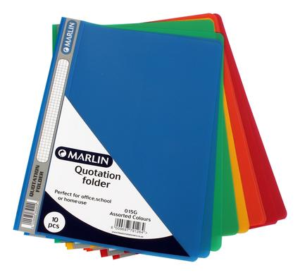 avenusa - Marlin A4 Quotation Folder 5 Pack Set - avenu.co.za - Office & School Supplies