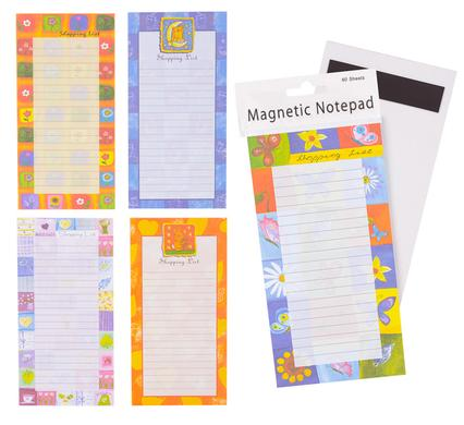 avenusa - NOVELTY SHOPPING LIST MAGNETIC 10.2x20.4cm - avenu.co.za - Office & School Supplies