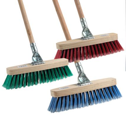 Wood Handle Broom 1.2m with Wooden Back