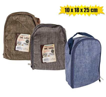 Thermal Insulated Lunch bag 10x18x25cm, Reusable Leakproof