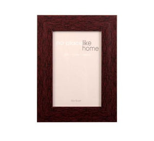 avenusa - Picture-Frame Pl Mahogany Look 10x15cm - avenu.co.za - Home & Decor