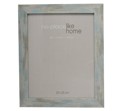 avenusa - Picture Frame Stressed, Weathered Look, Rustic Blue Plastic - 20 x 25cm - Wall, Tabletop Display - avenu.co.za - Home & Decor