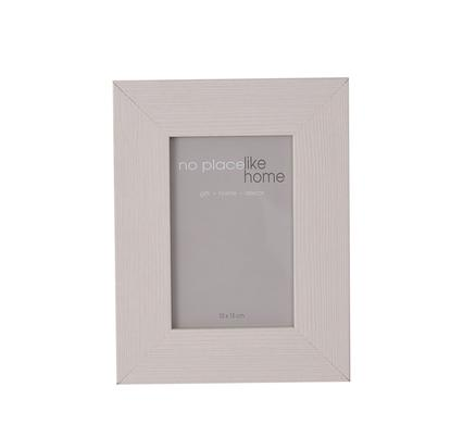 avenusa - Natural Mat White Wide Wooden Picture Frame, 10 x 15cm - avenu.co.za - Home & Decor