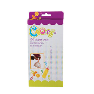 Cooey Diaper/Nappy Scented Disposal-Bags, 100pc