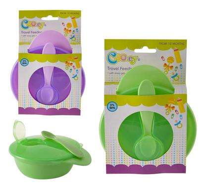 avenusa - Cooey Feeding Bowl With Lid And Spoon - avenu.co.za - Baby