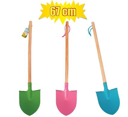 avenusa - Garden Monsters Kids Curved Garden Spade 67cm Assorted Colours - avenu.co.za - Tools & Home Improvement, Garden