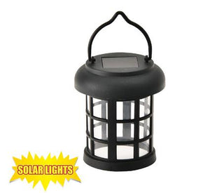 avenusa - Solar Powered Outdoor Hanging Lantern - Balcony, Patio, Garden - avenu.co.za - Tools & Home Improvement, Garden