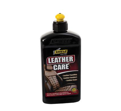 avenusa - Shield Leather Care - Upholstery, Car Seats, Boots, Leather Products - 400 ml - avenu.co.za - Automotive