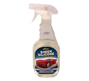 avenusa - Shield Silicone Trigger Spray Bottle - 500 ml - Can use on Metal, Wood, Plastic and Rubber - avenu.co.za - Automotive