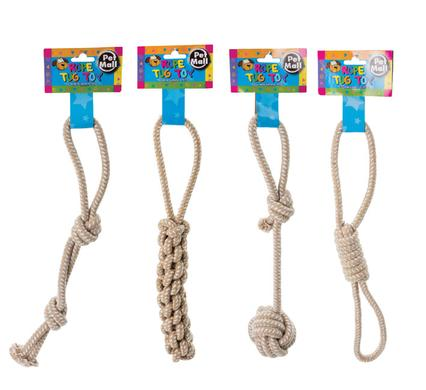 avenusa - Pet Dog Toy TUG-ROPE Soft Set Of 4 - avenu.co.za - Pet Supplies