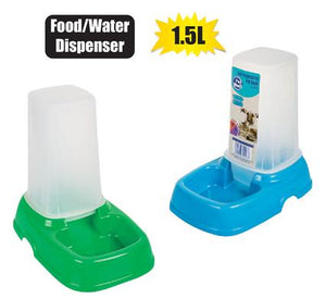 Pet Dog Or Cat Bowl Self-Feeder 1.5L Volume (Water Or Food)