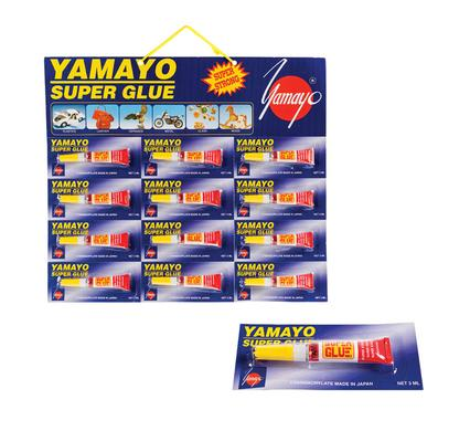 Yamayo Superglue 2.5g - Card of 12