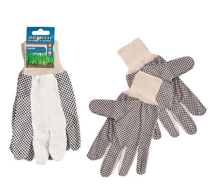 Zenith Polka Dot Garden Gloves For Men And Women. Comfortable, Breathable