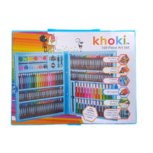 Load image into Gallery viewer, Khoki 169pc Carry Case Art Set
