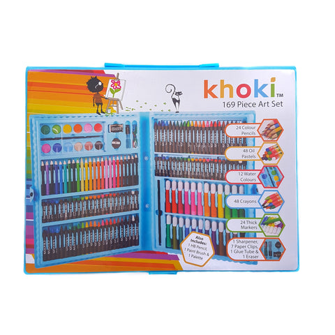 Khoki 169pc Carry Case Art Set