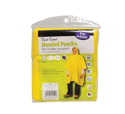 avenusa - Hooded Raincoat Poncho - Bright Yellow for Adults Waterproof Vinyl - 132 x 203cm - avenu.co.za - Sports & Outdoors