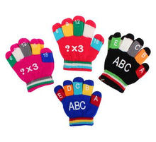 Load image into Gallery viewer, avenusa - Little Boys or Girls Winter Knitted Gloves Baby Letters/Numbers - avenu.co.za - Baby