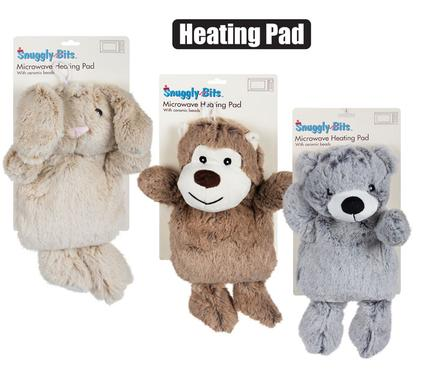 Microwave Heating Pad MONKEY/BEAR/BUNNY Teddy