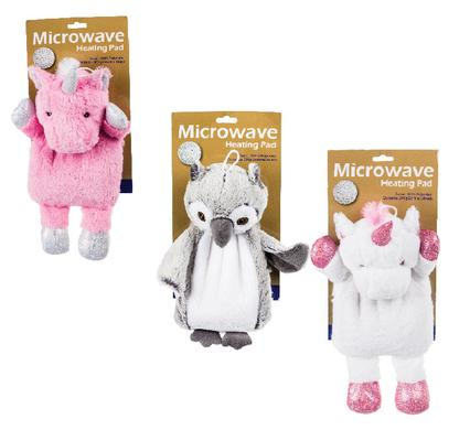 avenusa - Plush Microwavable Heating Pads 300g, Unicorn or Owl Animal Toys - avenu.co.za - Health & Beauty