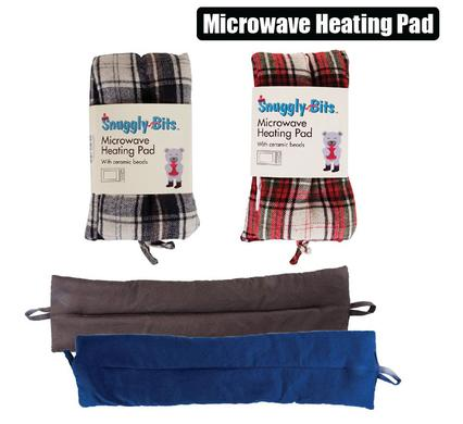 Hot Therapy Microwavable Heating Pad 100% Polyester 900g, Ceramic Beads