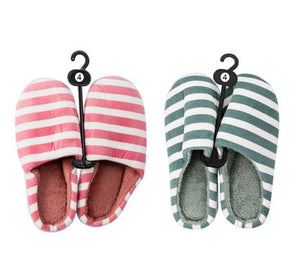 avenusa - Ladies Super Comfy Slip On Slippers Available Size 4 Striped Design - avenu.co.za - Fashion