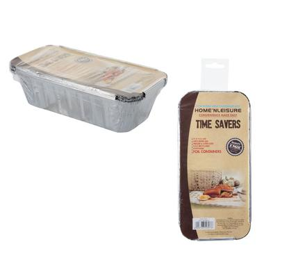 avenusa - Aluminium Foil Loaf Pans 21x9x5cm 5pc - avenu.co.za - Kitchen