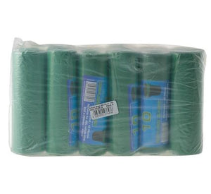 avenusa - Green Refuse Bag, Indoor or Outdoor Refuse - 750 x 950 mm (40 Micron) - 6 Pack - avenu.co.za - Tools & Home Improvement
