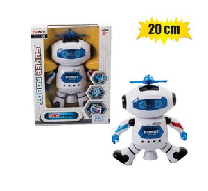 360 Degree Spinway Dancing Robot Battery Operated 20cmx26cm