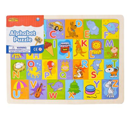 avenusa - PUZZLE JIGSAW WOOD 26PC ALPHABET 40x30cm - avenu.co.za - Toys & Games