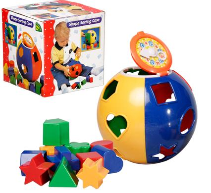 avenusa - Educational Baby Toy  Shorter Round Shape - avenu.co.za - Toys & Games