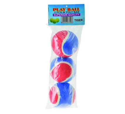 avenusa - Play Ball Tennis Balls Blue & Red 3 Pack - avenu.co.za - Sports & Outdoors