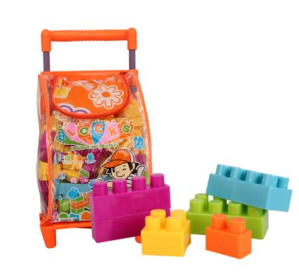 avenusa - Building Blocks & Storage Bag 86 Pc - avenu.co.za - Toys & Games