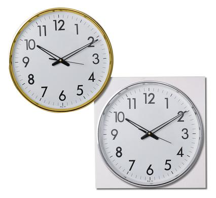 avenusa - Quartz Wall Clock Round 31cm - avenu.co.za - Home & Decor