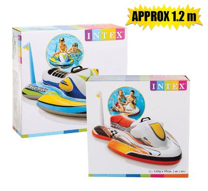 Intex Wave Rider Ride On 117cm x 77cm, Ages 3+