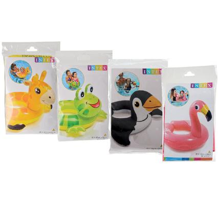 avenusa - Intex Swim Rings Assorted Animals Floating Pool Rings - ( Flamingo, Duck, Frog, Horse ) - avenu.co.za - Sports & Outdoors